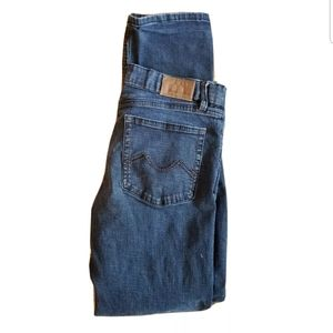 Urban Star 34x34 Blue Jeans Straight Leg Stretch